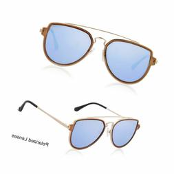 Sojos Fashion Polarized Aviator Sunglasses for Men Women Mir