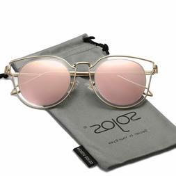 3c68b5e7e SOJOS Fashion Polarized Sunglasses for Women UV400 Mirrored