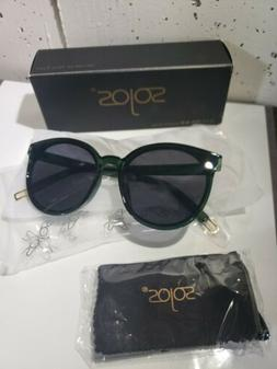 SOJOS Fashion Round Oversized Vintage Sunglasses