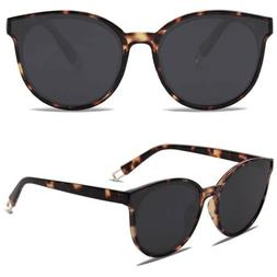 Sojos Fashion Round Sunglasses for Women Men Oversized Vinta