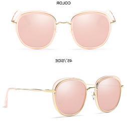 Fashion Sunglasses Men Women's Vintage Retro Mirror Glasses