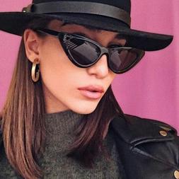 Fashion Vintage Trendy Cat Eye Sunglasses Women Retro UV400