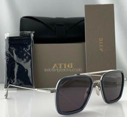 DITA FLIGHT 006 Sunglasses Black Transparent Frame Gray Lens