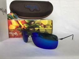 Maui Jim Frigate 716-06 | Polarized Gunmetal Blue with Black