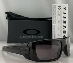 Oakley Fuel Cell Sunglasses OO9096-01 Shiny Black Warm Grey