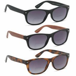 GAMMA RAY Vintage Style Bifocal UV400 Sunglasses Outdoor Rea