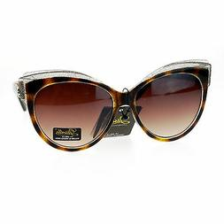 Giselle Lunettes Womens Fashion Sunglasses Oversize Cateye B