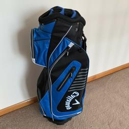 Callaway Golf 2017 Capital Cart Bag, Black/Charcoal/Orange