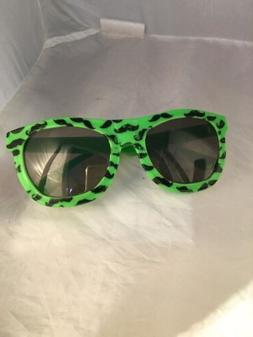 Green Sunglasses Mustache Party Favors NWT