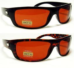 HD High Definition Vision Driving Golf Sunglasses WrapAround