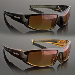 HD+ Sport Night Driving Sunglasses High Definition Vision Or