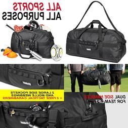Fitdom XL Sports Equipment Duffel Bag X L 36 In BLACK FREE S