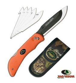 Hunting knife System 6 PC Replacement Blades W Sheath Outdoo
