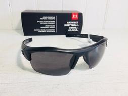 UNDER ARMOUR IGNITER Satin Black Frame w Gray Lenses Sport W