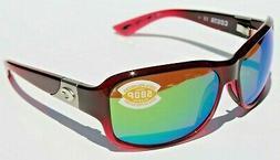 COSTA DEL MAR Inlet 580P POLARIZED Sunglasses Womens Pomegra
