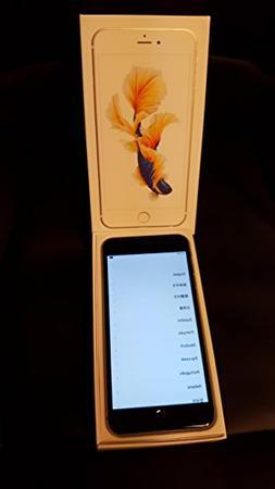 Apple iPhone 6s Plus US Domestic Warranty Unlocked Cellphone