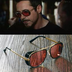 Iron Man Sunglasses color lens Robert Downey TONY STARK Pers