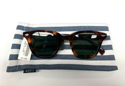 J Crew Men's Cape Brandy Tort Sunglasses New