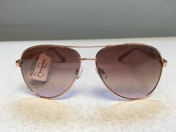 Jessica Simpson J5704 Rose Gold Rose Women's Sunglasses NWT