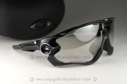 Oakley JAWBREAKER Sunglasses OO9290-14 Polished Black W/Clea