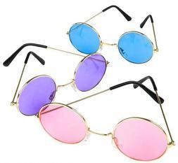 John Lennon Style Sunglasses Vintage Retro Classic Circle Ro
