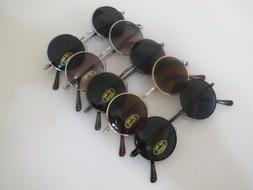 John Lennon Style Sunglasses Vintage Round Circle Retro Clas