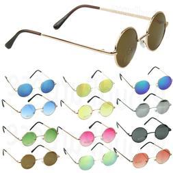 John Lennon Sunglasses Shades Small Round Hippie Hipster Ret