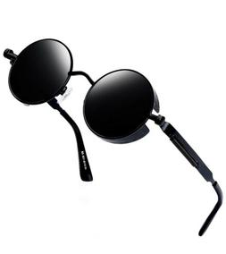 Joopin Round Retro Polaroid Sunglasses Polarized Glasses Ste