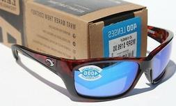 Costa Del Mar Jose Sunglasses, Tortoise, Blue Mirror 400 Gla