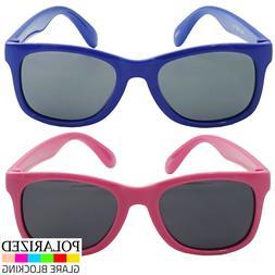 Kids Flexible Polarized Sunglasses UV400  TPE Material Non-t