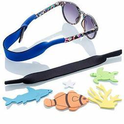Kids Glasses and Sunglasses Strap 2pk | Ages 2 to 5 | Bonus