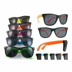 Neon Assorted Childs Sunglasses 80s Party Costume Retro Acce