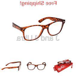 Kids Nerd Glasses Clear Lens Geek Fake for Costume Children'