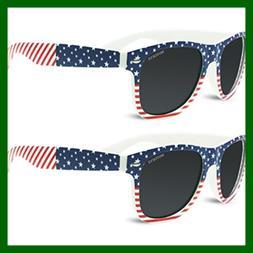 Kids Polarized American USA Flag Sunglasses For Girls Boys C