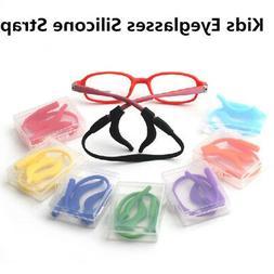 Kids Silicone Band Strap+ Ear Hooks for Glasses Eyeglass Hol