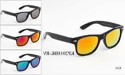 Kids Sunglasses Boys Girls Mirrored Classic Retro Eyewear Le