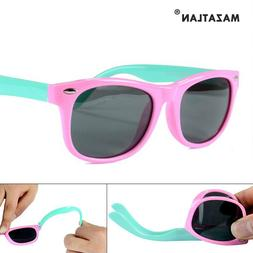 Kids Sunglasses Children's Polarized Square Lens <font><b>Gl