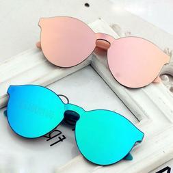 Kids Sunglasses For Girls Boys Anti-reflective Lens Uv Prote