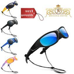 Kids Sunglasses Polarized Glasses Shades Boys Girls Silicone