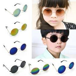 Kids Toddler Boys Girls Aviator Pilot Classic Style Sunglass