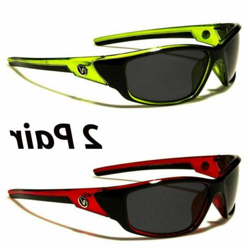 2 POLARIZED Mens Glare Driving Sport