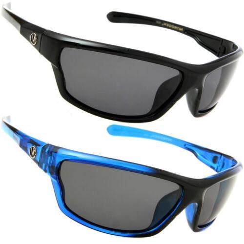 2 pair polarized sunglasses mens golf running