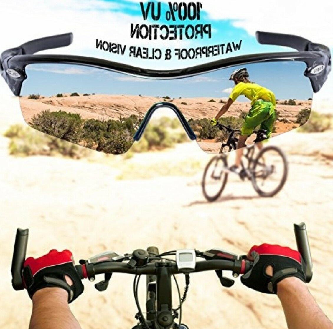 RIVBOS Sunglasses Set Interchangeable