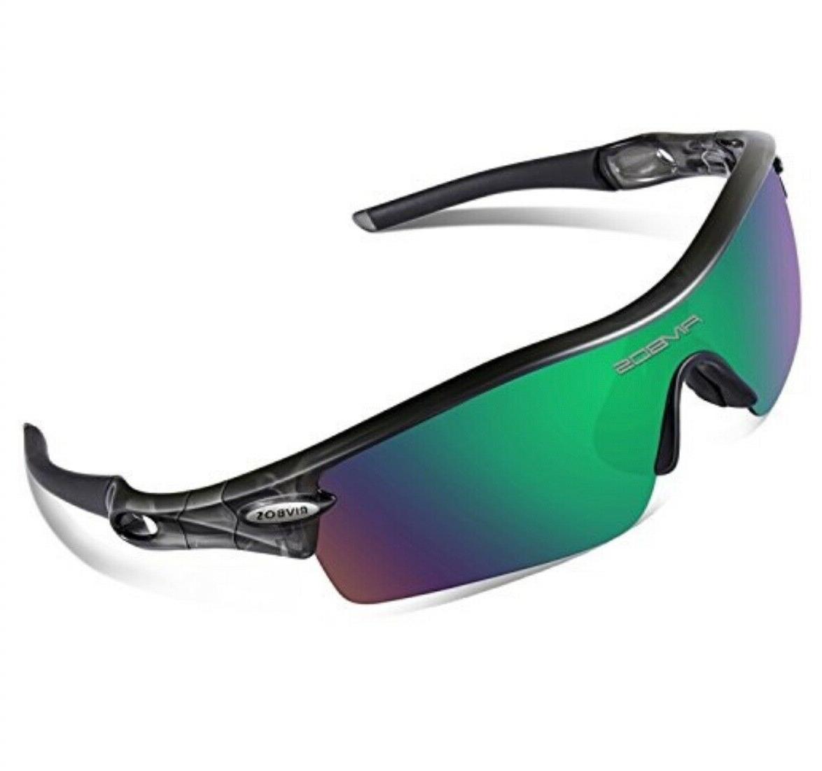 805 polarized sports sunglasses with 5 set