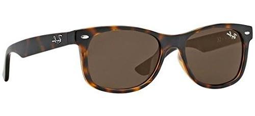 Ray-Ban Junior Kids' 0rj9052s Wayfarer Sunglasses, Havana, 4