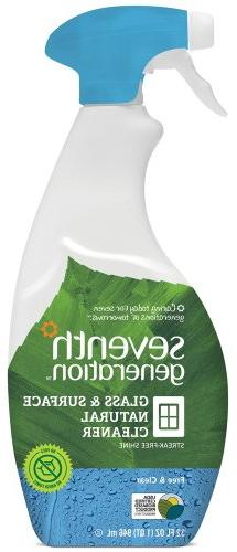 Seventh Generation - Glass Surface Cleaner Free & Clear - 32