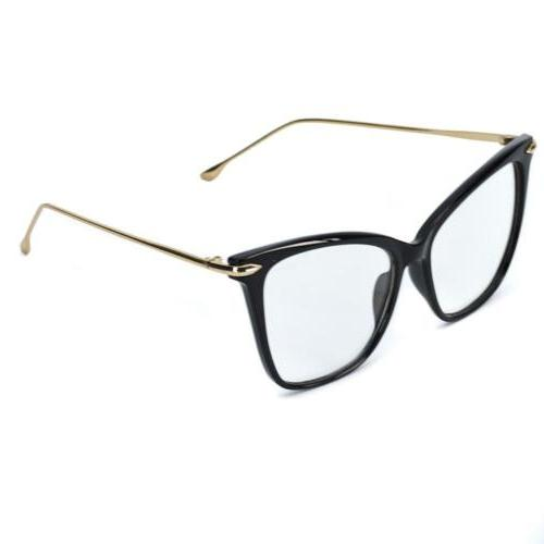 WearMe Elegant Oversized Eye Non-Prescription Glasses
