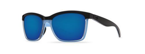 Costa Mar Blue Mirror Square Sunglasses
