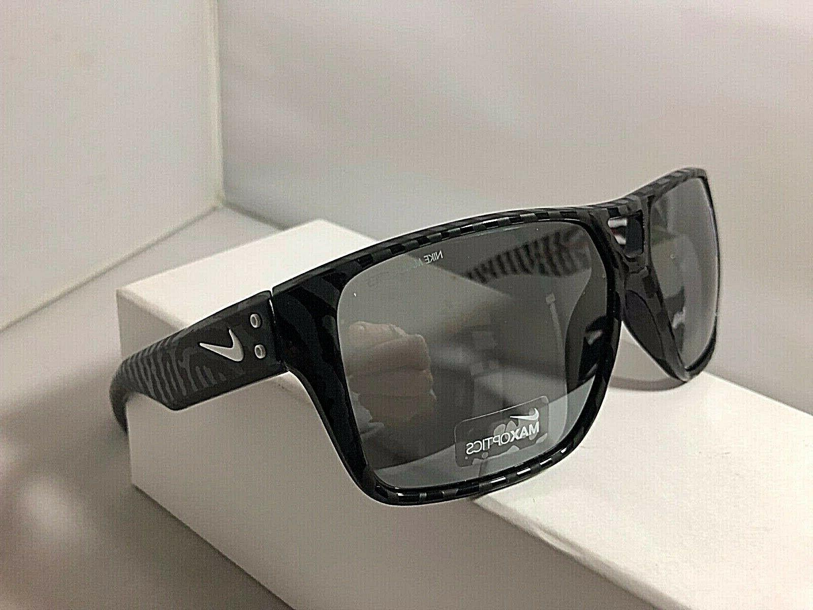 auth new sunglasses charger evo876 black grey
