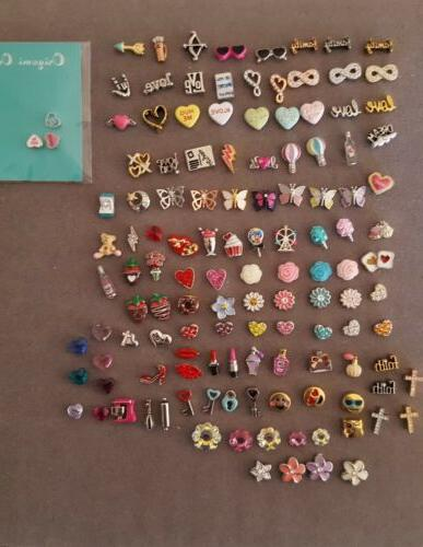 authentic valentines spring love themed charms retired